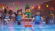 Emmet's Holiday Party A LEGO Movie Short HD