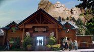 Mount Rushmore back door