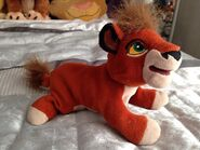 Lion king disneystore beanie kovu plush by littlerolox3-d7ixnc4