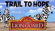 Trail To Hope - The Lion Guard Music Clip
