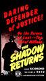 Shadow Returns (1946 Movie Poster)