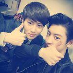 Chanyeol Suho November 8, 2014 (3)