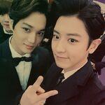 Chanyeol Sehun Baekhyun December 2, 2014 (1)