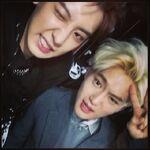 Chanyeol Suho May 21, 2014