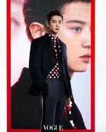 Chanyeol Vogue Korea (October 2020) 3