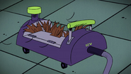 S2E17A Capture device clogged with hair