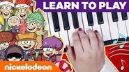Loud House Holiday Piano Lessons + BONUS School of Rock Jingle Bells MusicMonday