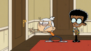 S2E23B Lincoln trying to open the door telekinetically