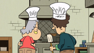 S4E06B Lynn and Mildred cooking together