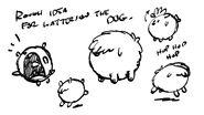 TLH Mascotas Molestas Storyboard de Watterson