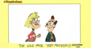 The Loud House Potty Mouth Animation Cel 4 2017