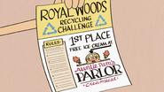 S4E19A Recycling challenge flier