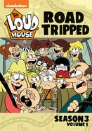 The Loud House Road Tripped DVD