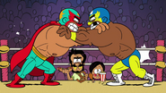 CS1E07 Luchador Wrestling