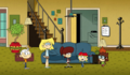 Welcome to the Loud House Living Room