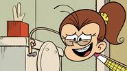 S2E21A Luan flushes the toilet