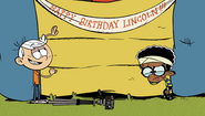 S2E07B Lincoln and Clyde recreating Lincoln's birthday