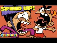 Anytime Carlitos Copies Someone It Speeds Up! - The Casagrandes