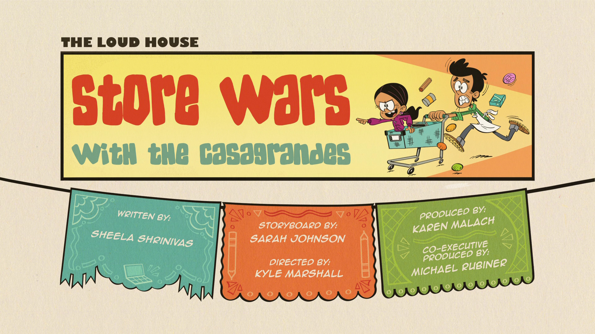 Store Wars with the Casagrandes