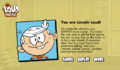 The Loud House Characters Quiz Lincoln
