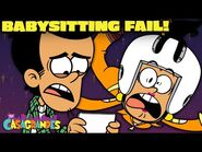 Bobby's Babysitting FAIL! 'Maybe Sitter' - The Casagrandes