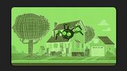 S2E20A Robot spider crawling around the house