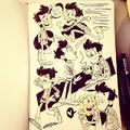 Bobby sketches