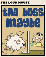 The Boss Maybe square title card