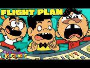 Carl Sneaks On A Plane! 'Flight Plan' - The Casagrandes