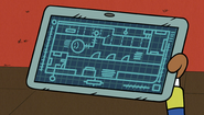 S1E01B schematic of the house