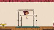 S03E12A Jackie doing gymnastics