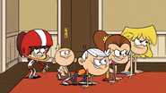 S3E13A Siblings lined up
