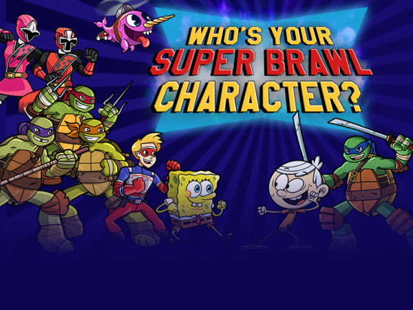 Who's your Super Brawl Character?