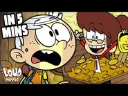 The Loud House 'Camped!' In 5 Minutes! - The Loud House
