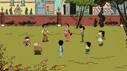 CS1E04A The Casagrandes playing soccer in the park