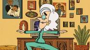 S4E05B Mrs. Kernicky doing yoga