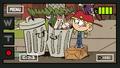S1E02B Lana digging through the trash