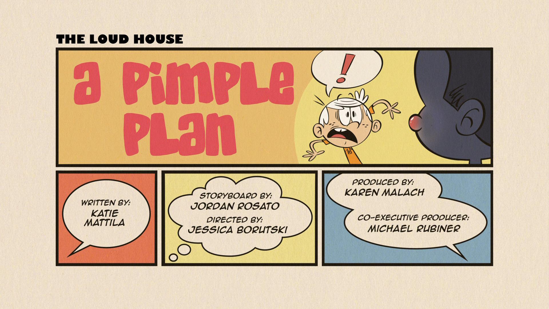 A Pimple Plan