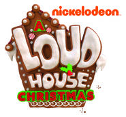 A Loud House Christmas Logo