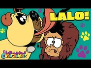 Lalo The Dog's BEST + BARKY Moments 🐾 - The Casagrandes