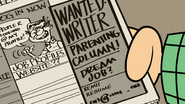S4E17A The Royal Woods Gazette is looking for a writer
