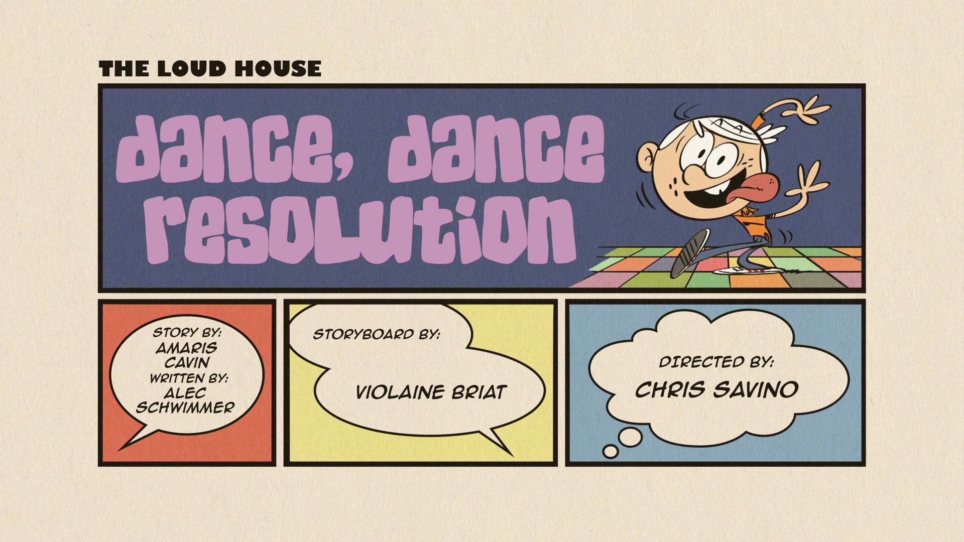 Dance, Dance Resolution