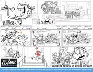 Ed Baker Storyboard sketches