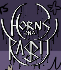 Horns on a rabbit logo.png