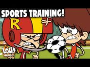 Training For The Sports Championships With Lynn Jr! - The Loud House