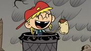 S4E21B Lana found a burrito in a trash