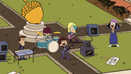 S4E16A Principal Rivers rocking out with the band