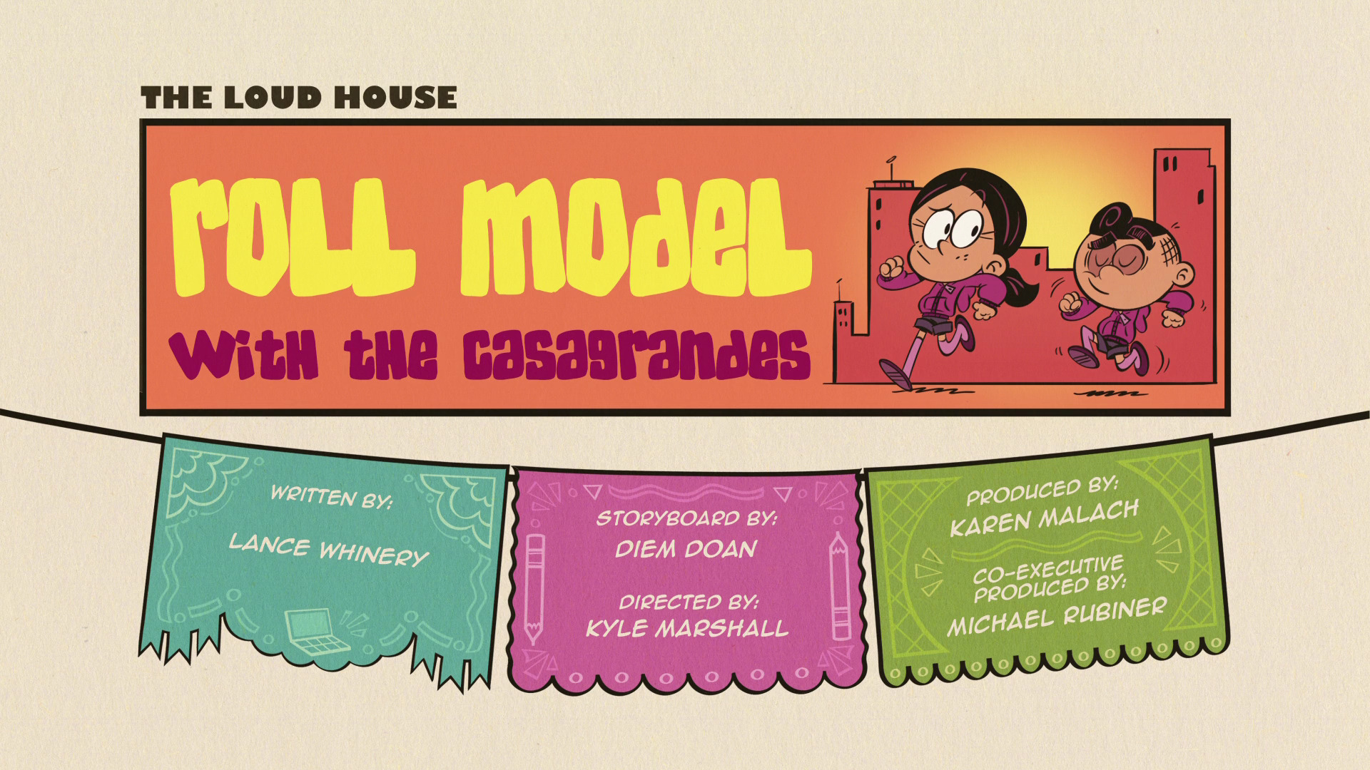 Roll Model with the Casagrandes