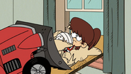S5E03A Mr. Grouse drives her and the sand out of the room