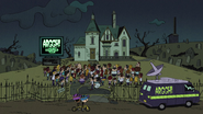S2E17A Linc and Clyde arrived at the cemetery